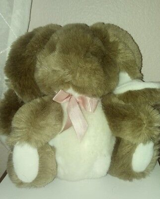 1988 Applause curly lops rabbit with whiskers and pink bow](Rabbit Whiskers)