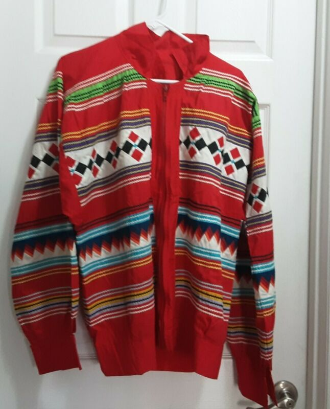 Authentic Seminole Indian Patchwork Jacket Tommy Family