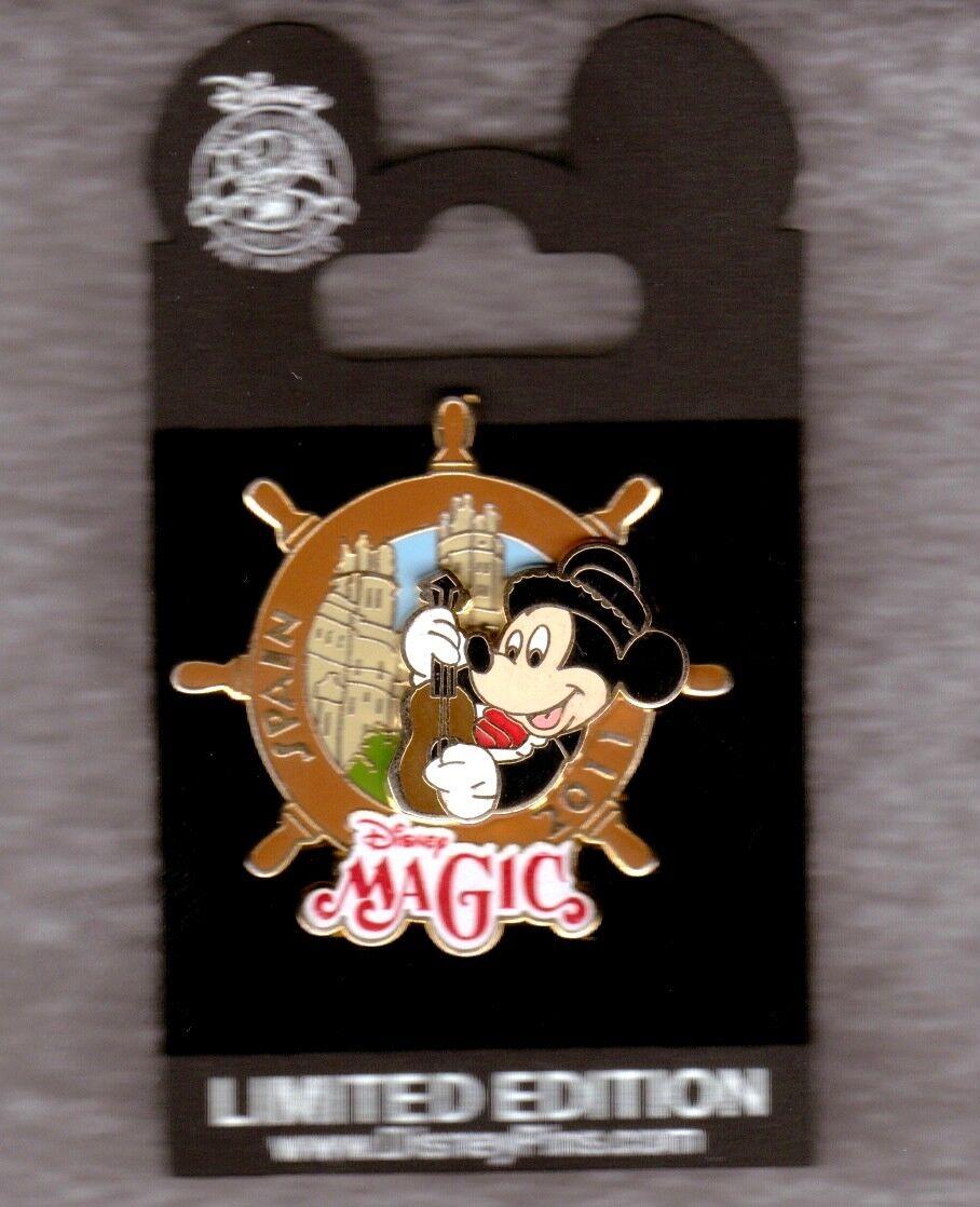 Mickey in Spain DISNEY PIN Pin 86146 DCL Mediterranean Cruise 2011