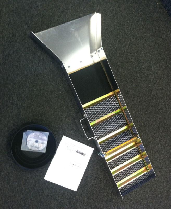 "JOBE 45"" SLUICE BOX yellowjacket 6504 + How 2 DVD + GOLD PAN"