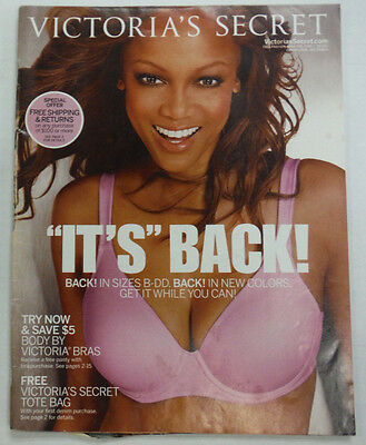 Victorias Secret Magazine Tyra Banks B Dd Fall 2004 051615R