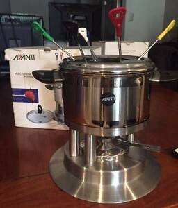 Authentic New Swiss Fondue Set North Turramurra Ku-ring-gai Area Preview