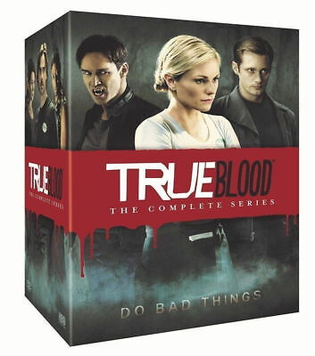 True Blood: Complete Series Season 1-7 (DVD 2014, 33-Disc Box Set) 1 2 3 4 5 6 7