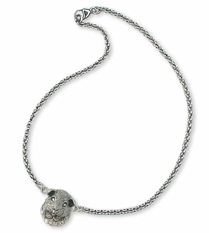 Guinea Pig Bracelet Jewelry Sterling Silver Handmade Piggie Bracelet GP2-B