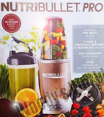 NutriBullet Pro 900-Watt Blender NEW in Box