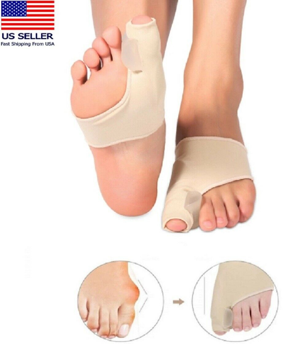 Big Toe Bunion Splint Straightener Corrector Foot Pain Relief Hallux Valgus US Foot Creams & Treatments