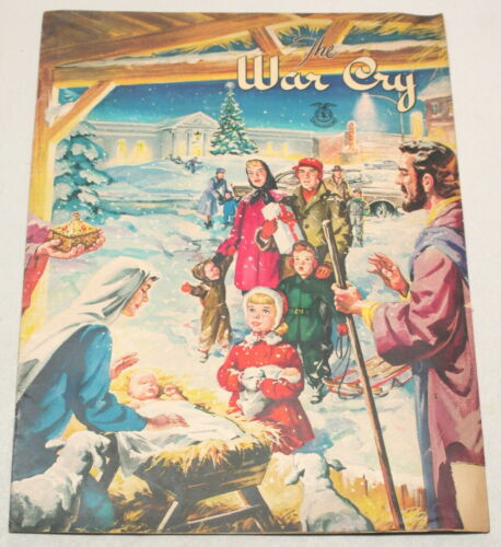 The Christmas War Cry Dec 20 1958 Salvation Army