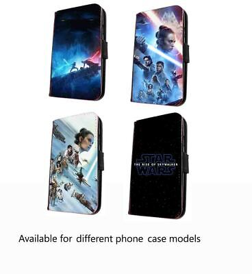 Star wars phone case faux leather Rise Skywalker case for iPhone Samsung Huawei