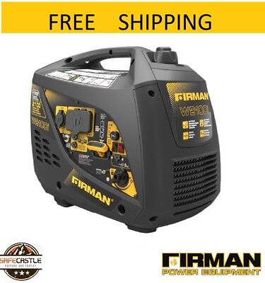 New Firman W01781 Whisper Series Inverter Generator Free Shipping