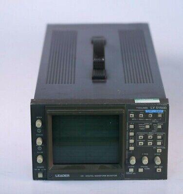 Leader Lv5150d Hd Multiformat Waveform Monitor