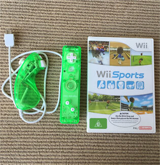 Brand new Wii remote controller + nunchucks + game Mawson Lakes Salisbury Area Preview