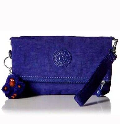Kipling crossbody bag lynne sm convertable,cobalt blue dream,NEW with all tags