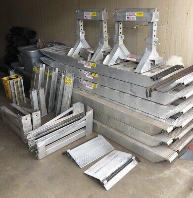Heavy Duty Aluminum Step Deck Ramps