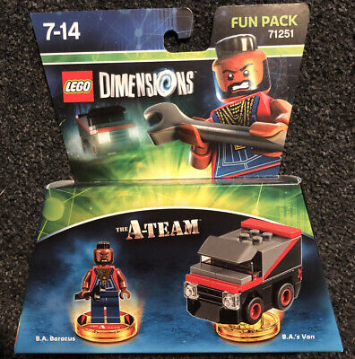 Lego Dimensions The A Team Fun Pack #71251 *NEW & Sealed - Rare Set*