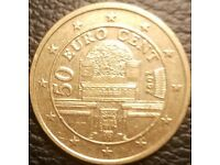 Vatican City 50 Euro Cent coin 2016 Pope Francis UNC