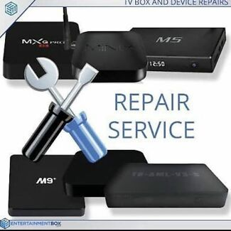 ANDROID TV BOX REPAIRS UPGRADES KODI 17.6 RE PROGRAM SALES