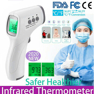 Non-contact Digital Infrared Forehead Thermometer Handheld Laser Temperature Gun