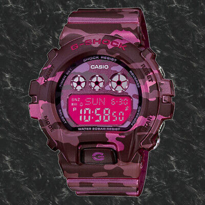 Casio GMD-S6900CF-4C Women's G-SHOCK Camouflage Series Watch 200M New G-shock 200m World Time Watch