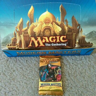 Magic The Gathering Modern Masters Booster Pack  Wizards Of The Coast Tarmagoyf