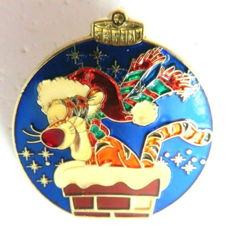 Disney Pin Christmas 2007 Mystery Tin (Tigger) LE 600 AS IS #58558