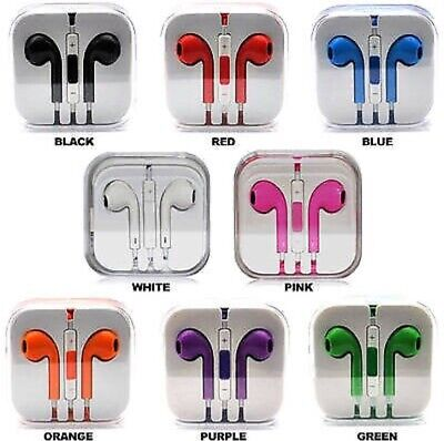 New Earbuds headphone Apple iPhone 6 5 4 Plus Se iPad iPod Pods 3.5mm Ear