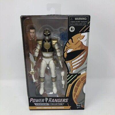 Power Rangers Spectrum Lightning Collection Mighty Morphin White Ranger Figure