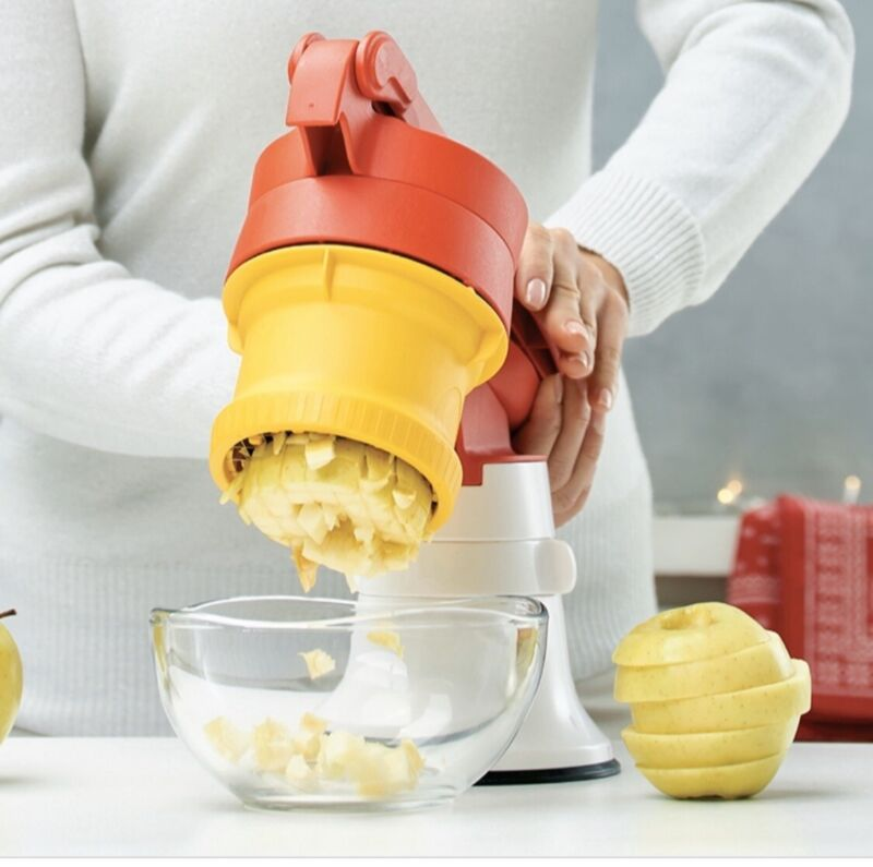 TUPPERWARE MASTER SISTEM CUT CHEF INSERT WITH BASE