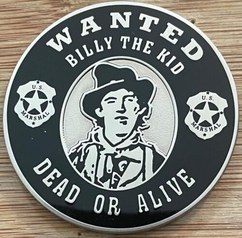"""US Marshals Service - DofNM """"BILLY THE KID"""" SecondGEN version challenge coin"""