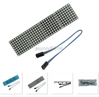 Max7219 Dot Matrix Module Arduino Microcontroller Module 4 In One Display