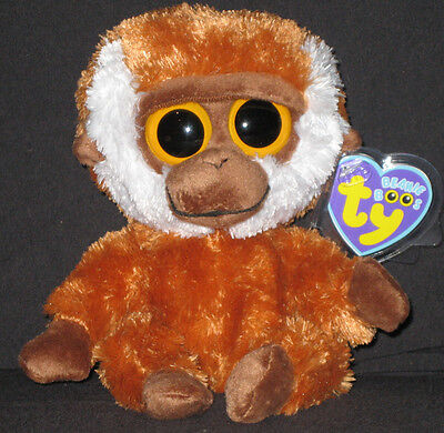 TY BEANIE BOOS - BONGO THE MONKEY - MINT with MINT TAGS
