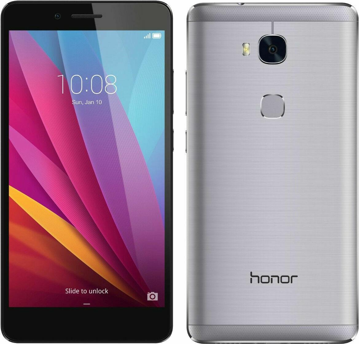 Huawei Honor 5x - 16GB - Dark Gray (Unlocked) Smartphone