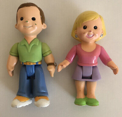 Fisher Price My First Dollhouse PARENT Figures Mom & Dad