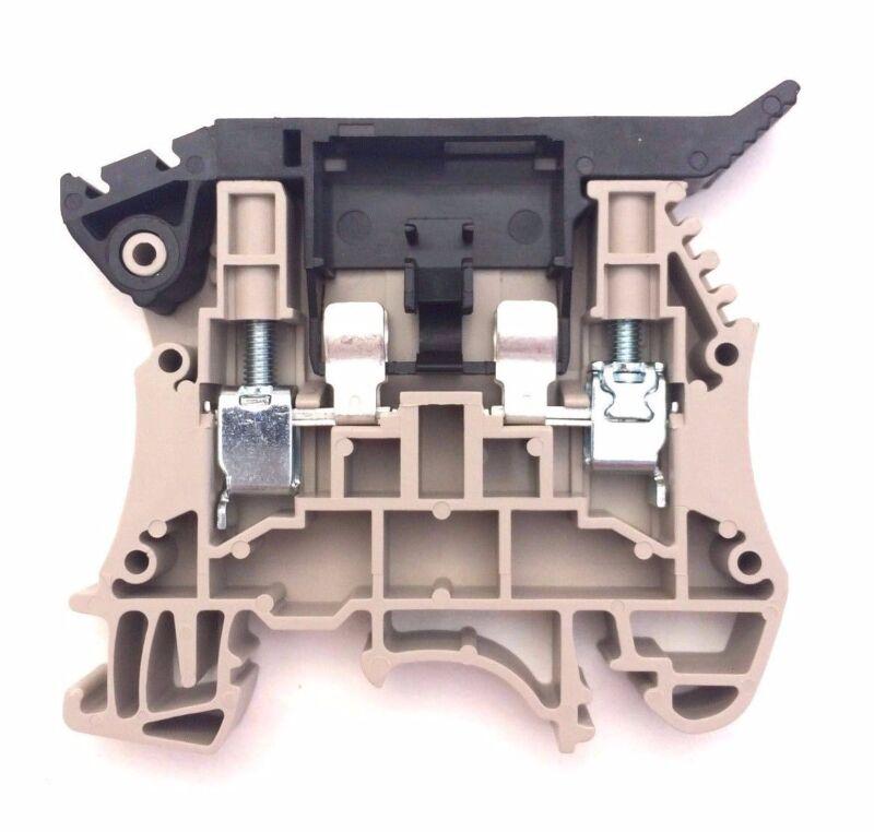 DIN Rail Terminal Block Fuse Holder DK4-TF(5x20) Pack of 12 UL 300V 16A 12-24AWG