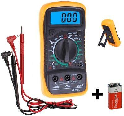 Multimetro Digital Amperimetro Voltimetro Tester Polimetro Medidor Corriente