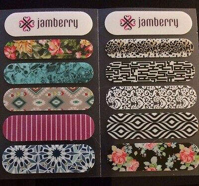 Jamberry Nail Wraps Sample Sheets Fall/Winter 2015 RETIRED DESIGNS!!!!