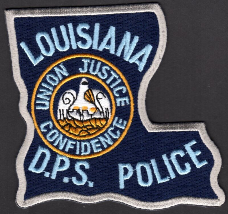 👀😎😜👍   Louisiana D.P.S. Police Shoulder Patch Department of Public Safety