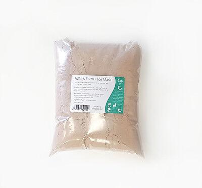 Feinste Natürliche Calcium (Calcium Bentonit (Bleicherde) Sehr Fein Pulver - 2kg - Rein und Natürlich)