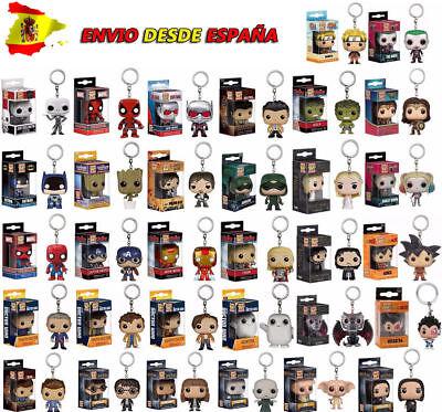 Llavero Funko POP Keychain Figura Once Eleven Dustin Groot Marvel DC - España