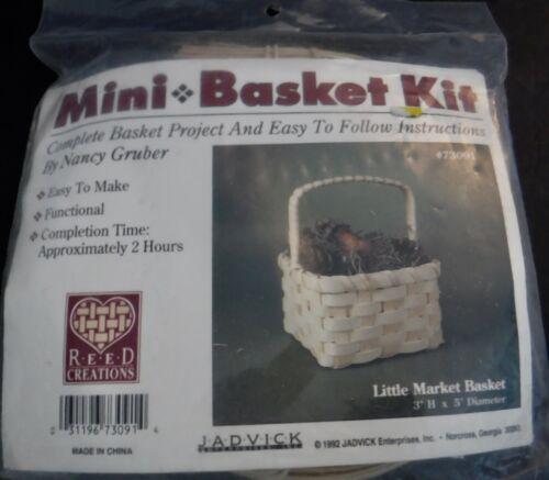 New Jadvick Little Market Basket Mini Kit by Nancy Gruber #73091
