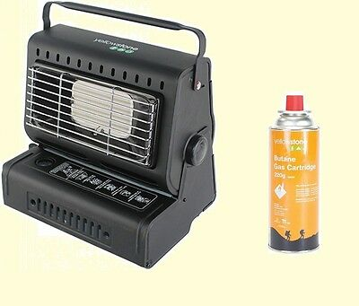 Fishing / Camping Portable Heater +  Gas canister for Bivvy Tent Outdoor