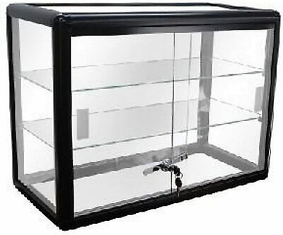 Only Hangers Black Anodized Aluminum Countertop Showcase New