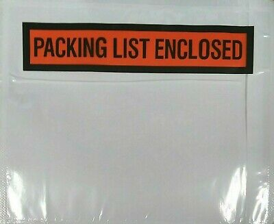4.5x5.5 Packing List Envelope Slips Box Pouches 4.5 X 5.5 -increments Of 50