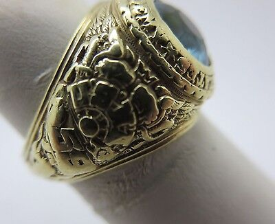 Naval Academy Ring (1959 J.E. Caldwell 14K Gold U.S.Naval Academy 1959 Class Ring Sweethearts Ring )