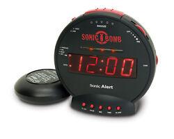 Sonic Boom SA-SBB500SS Alarm Clock w/Super Bed Shaker, extra loud Alarm
