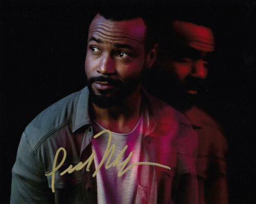 ISAIAH MUSTAFA SHADOWHUNTERS SIGNED 10X8 PHOTO AFTAL & UACC [14735] IN PERSON