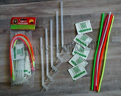 Deluxe Expanding Insulation Sealant Straw Bundle - Great Stuff Foam Nozzles