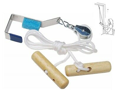Over The Door Shoulder Pulley System Rope Physical Therapy Machine Equipment