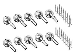 Atlantis Rail Easy C0981-S104 Flat Swivel Terminating End 10-pack for Cable Rail