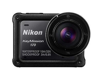 Actionkamera Nikon KeyMission 170 wasserdicht bis 10m 4K NEUWARE