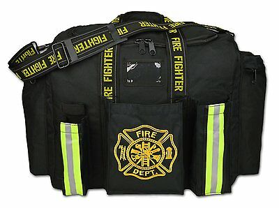Black Lightning X Premium Firefighter Xl Step-in Turnout Fire Duty Gear Bag